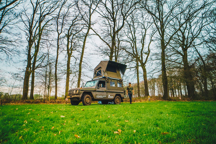 Weekend brabant 4x4 kamperen