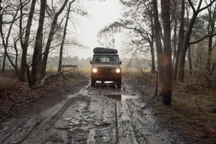 Brabant off-road bos met 4x4
